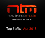 NTM's Top 5 Trance Tracks April 2013