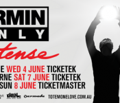 Armin Only Intense – Australian Tickets on Sale!