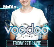 Voodoo presents MaRLo – June 27th 2014