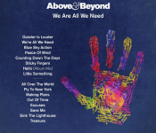 Above & Beyond – We Are All We Need Tracklist