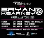 Bryan Kearney Australian Tour 2015