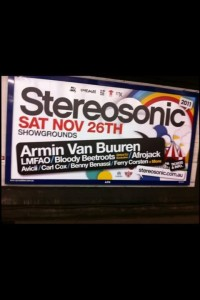 Leaked Stereosonic 2011 Poster