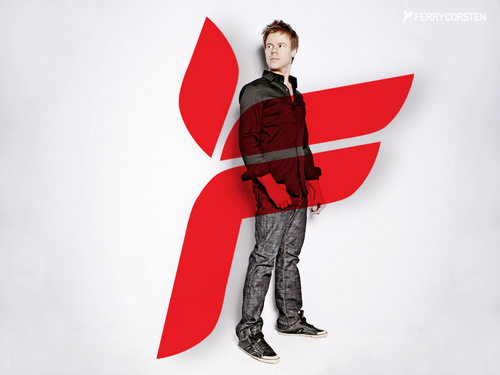 Ferry Corsten with Ferry Logo
