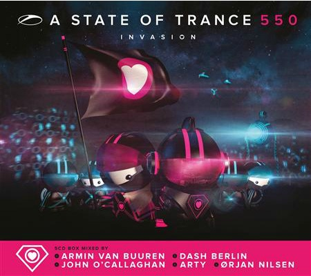 asot 550 compilation A State of Trance 550 5CD Compilation Tracklist