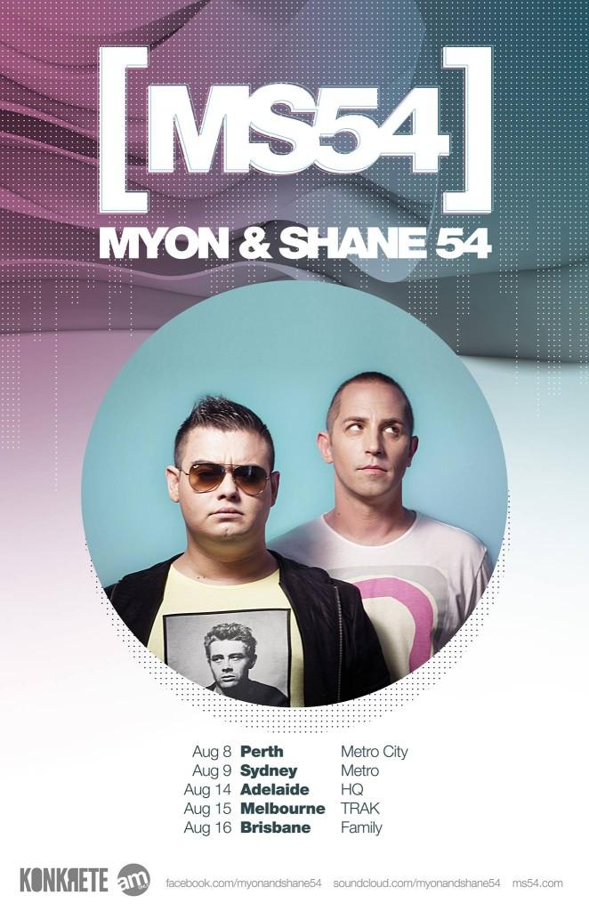 myon-and-shane-54-australian-tour-august-2014-poster