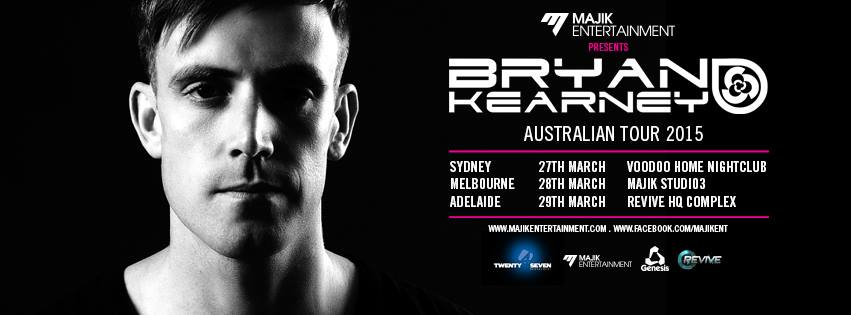 Post image for Bryan Kearney Australian Tour 2015